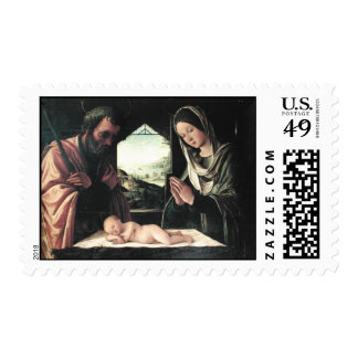 Nativity by del Costa Postage