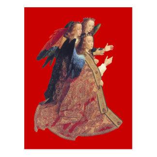 Nativity by Hugo van der Goes Vintage 1475 Postcard
