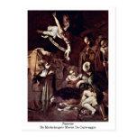 Nativity By Michelangelo Merisi Da Caravaggio Post Cards