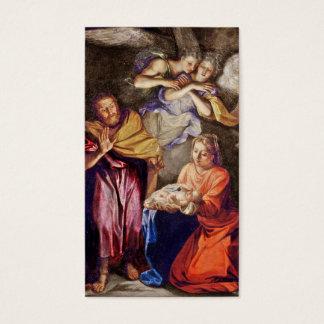 Nativity by Noel Coypel Business Card