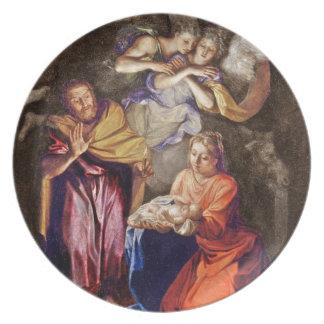 Nativity by Noel Coypel Dinner Plate