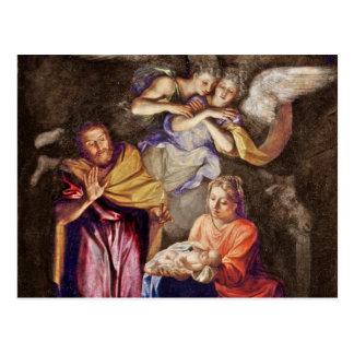 Nativity by Noel Coypel Postcard