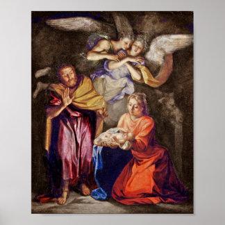 Nativity by Noel Coypel Poster