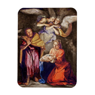 Nativity by Noel Coypel Magnets