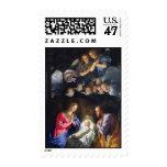 Nativity by Phillippe de Champaigne Postage Stamp