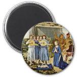 Nativity By Piero Della Francesca (Best Quality) Magnets