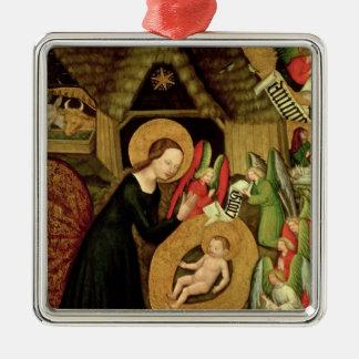 Nativity, c.1425 metal ornament
