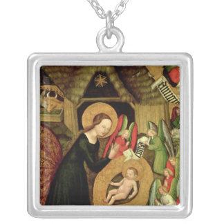 Nativity, c.1425 square pendant necklace