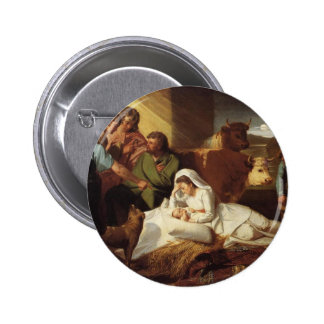 Nativity Christ Baby Jesus Christianity Scripture Buttons