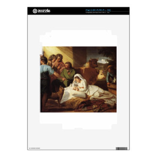 Nativity Christ Baby Jesus Christianity Scripture Skins For iPad 2
