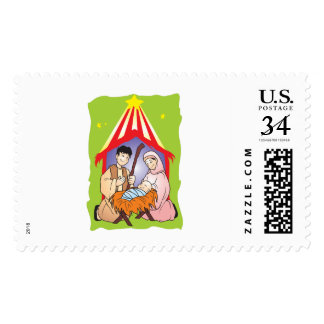 Nativity Christmas Birth of Jesus Christ Stamps