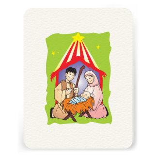 Nativity Christmas Birth of Jesus Christ Stamps Invitations