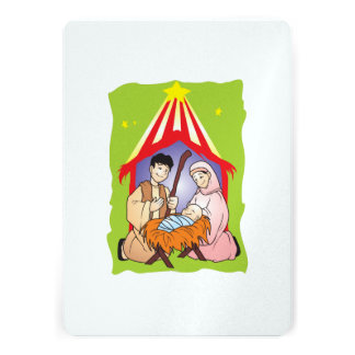 Nativity Christmas Birth of Jesus Christ Stamps Cards