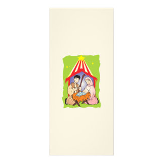Nativity Christmas Birth of Jesus Christ Stamps Custom Announcement