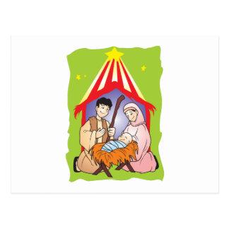 Nativity Christmas Birth of Jesus Christ Stamps Postcards