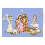 Nativity Christmas Greeting Card