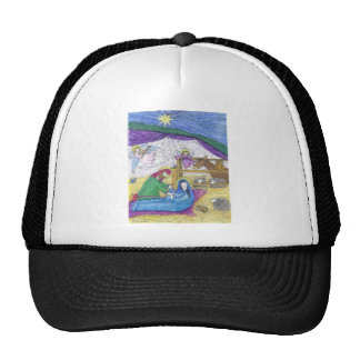 Nativity  Christmas Hats