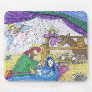 Nativity  Christmas Mouse Pad