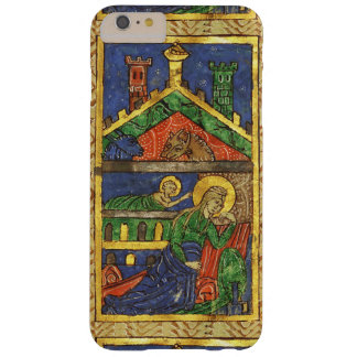 NATIVITY CHRISTMAS PARCHMENT ANTIQUE BARELY THERE iPhone 6 PLUS CASE
