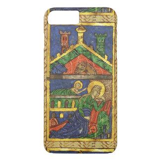 NATIVITY CHRISTMAS PARCHMENT ANTIQUE iPhone 8 PLUS/7 PLUS CASE