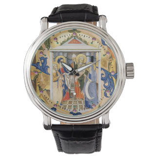 NATIVITY CHRISTMAS PARCHMENT WATCHES