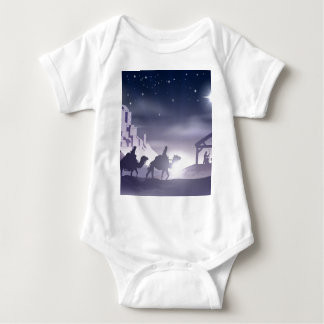 Nativity Christmas Scene Tee Shirts