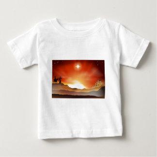 Nativity Christmas story illustration T Shirt