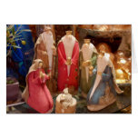 Nativity Figurines Photo Greeting Card
