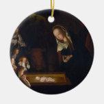 Nativity Geburt Christi by Geertgen tot Sint Jans Ornament