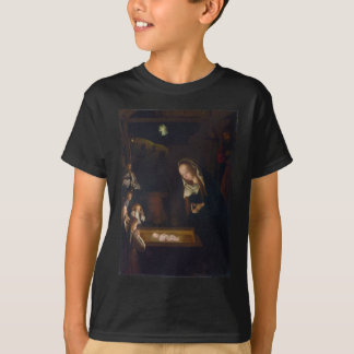 Nativity Geburt Christi by Geertgen tot Sint Jans T-Shirt
