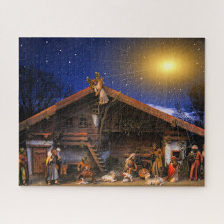 Nativity Glowing Star Photo Puzzle