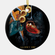 Nativity - Greek Orthodox Christmas Ornament at Zazzle