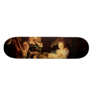 Nativity - Holy Night - Correggio - Renaissance Skateboard Deck