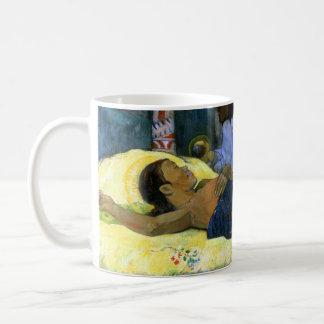 Nativity in Tahiti art painting by artist Gauguin Classic White Coffee Mug