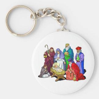 Nativity_KC Llavero Redondo Tipo Pin