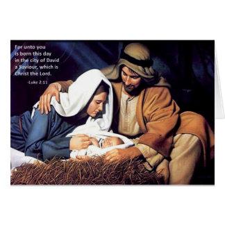 Nativity / Luke 2:11 Cards