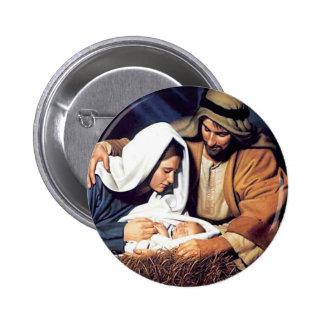 Nativity / Luke 2:11 Pinback Button