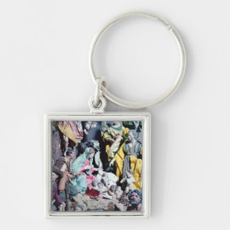 Nativity, made in Naples Keychain
