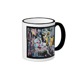 Nativity, made in Naples Ringer Coffee Mug