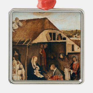 Nativity Metal Ornament