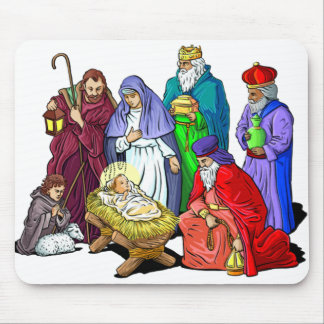 Nativity Mousepad