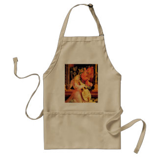 NATIVITY,MUSIC MAKING ANGELS - MAGIC OF CHRISTMAS ADULT APRON