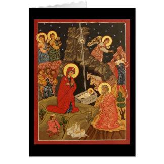Nativity of Christ / Hymn Card