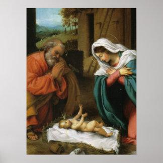 Nativity of Christ Poster