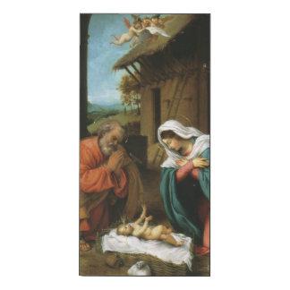 Nativity of Christ Wood Wall Art