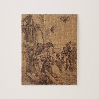 Nativity of Jesus by Giovanni Battista Tiepolo Jigsaw Puzzle
