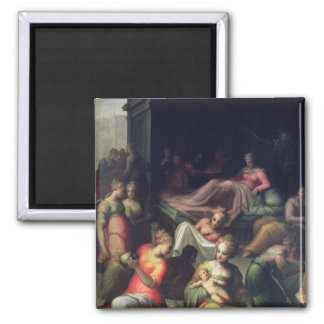 Nativity of John the Baptist 2 Inch Square Magnet