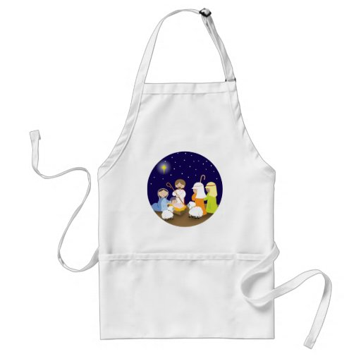 Nativity of the Lord Adult Apron