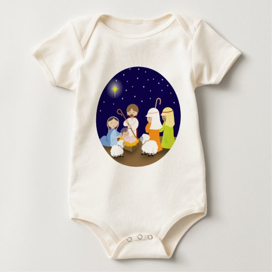 Nativity of the Lord Baby Bodysuit