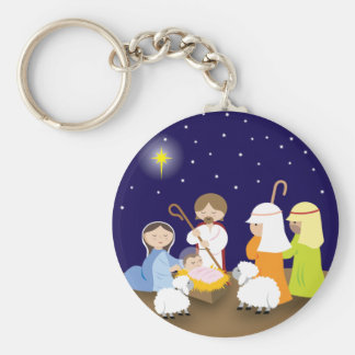 Nativity of the Lord Keychain